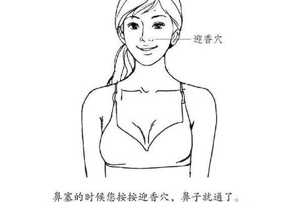 中医按摩疗法 对付冬季感冒